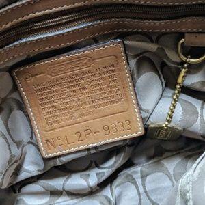 Coach Bags - Coach // leather messenger crossbody bag